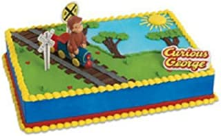 CURIOUS GEORGE birthday cake kit topper NEW!! by unbranded