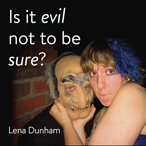 Is it evil not to be sure? audiobook cover art
