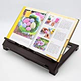 leggio per libro//libro da cucina legno in stile coloniale solido e rappresentativo Keck und Lang