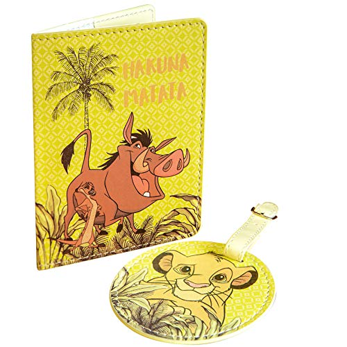 Disney The Lion King Luggage Tag & Passport Cover Set