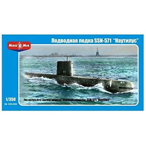 SSN-571 'NAUTILUS' U.S. NUCLEAR SUBMARINE 1/350 MICRO-MIR 350-009