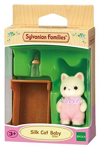 Sylvanian Families - 5066 - Bebé Gato de Seda