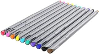 10 Pcs/set 0.38mm Watercolor Fine Line Pen Painting Tool Set Stationery Office School Art Supplies Color Drawing Gel Pen