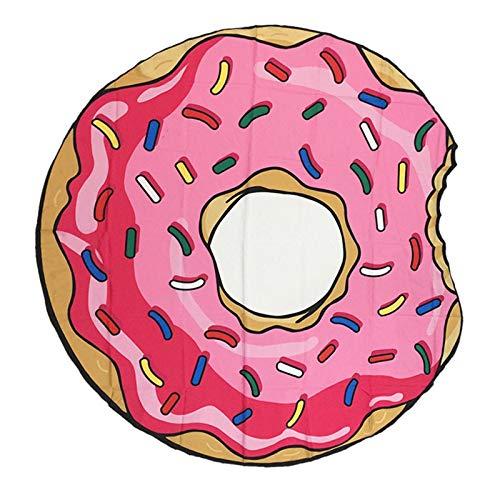123 Life Manta De Playa De Hamburguesa De Pizza De Donut De Chocolate, Manta De Toalla De Playa De Microfibra, Adecuada para Playas, Piscinas, Lagos Y Otros Lugares, Lavable A Máquina (11)