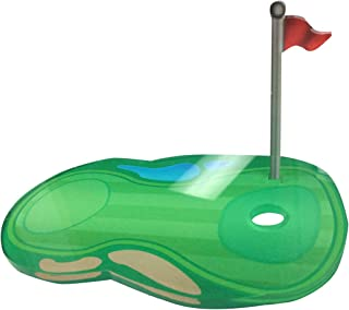 Acrylic Golf Ball Stand 3D Color Printed Display Athletic Unique Fairway Course Trophy Case