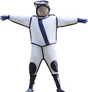 スズメ蜂防護服 20000mhaバッテリーが三つ付き 説明書付き