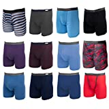 Fruit of the Loom, 12 Pack Random, Mens Underwear, Underwear for Men, Cotton Underwear, Boxer Briefs...