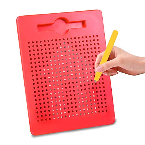 Magnetic Drawing Board for Kids Toddlers with Stylus - Magnetic Drawing Doodle Board Educational Learning Writing STEM Travel Toys for Boys Girls Age 3+