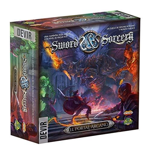 Devir- Detalles de Sword and Sorcery Complementos: Portal Arcano (BGSISPORTA)