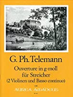 TELEMANN - Obertura en Sol menor (TWV:55/g8) para 2 Violines y Piano (Payne)