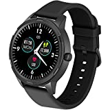 WAFA Smart Watch, 5ATM Waterproof Fitness Tracker Watch with Heart Rate Monitor, IPS Touch Screen GPS Activity Tracker Watch with Sleep Blood Pressure Pedometer Smart Watch Compatible Android iPhone