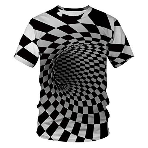 Paar T-shirts unisex 3D gedrukt zomer casual korte mouwen T-stukken Valentijnsvriend vriendin echtgenoot vrouw liefde cool grappig geschenk mannen vrouwen shirts S-XXXL