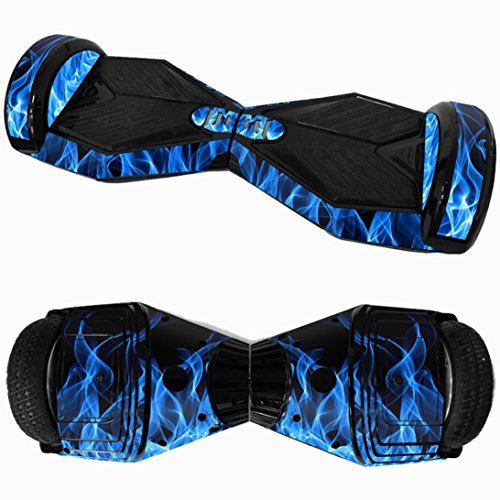 """Iusun 6.5"""" Skin for Self-Balancing Electric Scooter - PVC Sticker for Skate Hover Board - Decal for Self Balance Mobility Longboard 2 Wheel Scooter (I)"""