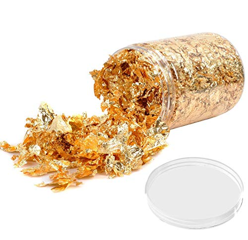 Gold Leaf Gilding Resin Flakes