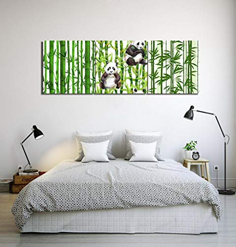 Jjek LB Plant,Bloempot,Cactus,Groen, Wit_Picture Print op Canvas Muur Kunst voor Woonkamer Slaapkamer Home Decoratie,3 Stuk 40x40,Met Frame,Multi-01,Met Frame With Frame Multi-04