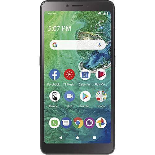 TracFone TCL A2 4G LTE Prepaid Smartphone (Locked) - Black - 32GB - Sim Card Included - CDMA, TFALA507DCP