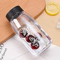 水筒 クリアボトル 給水ボトル 500ml 直飲み ワイドマウス 漏れ防止 ポータブル 持ち運び便利 プラスチック BPAフリー 耐熱 透明 おしゃれ 子供用 男女兼用 会社用 オフィス用 水飲みコップ