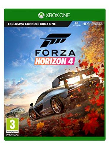 Forza Horizon 4 Edizione Standard, Pegi 3, Xbox One, 4K UKTRA HD, HDR, Microsoft