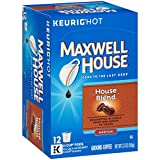 Maxwell House House Blend Keurig K Cup Coffee Pods (12 Count)