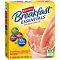 Carnation Breakfast Essentials Powder Drink Mix, Strawberry Sensation, 10 Count Box of 1.26 Ounce Packets (Pack of 6) (Packaging May Vary)