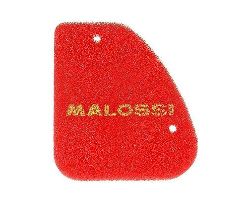 MALOSSI Red Sponge Luftfilter Einsatz kompatibel für Peugeot Speedfight 1, 2, Squab, TKR, Trekker, 50cc ROLLER
