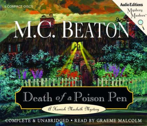 Death of a Poison Pen (Hamish Macbeth Mysteries... 1572703784 Book Cover