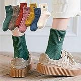 靴下 セサミストリート SESAMI STREET レディース くるぶしソックス フットカバー クルーソックス かわいい 蒸れない 脱げにくい 立体 おしゃれ ファッション 女性用 (#5)