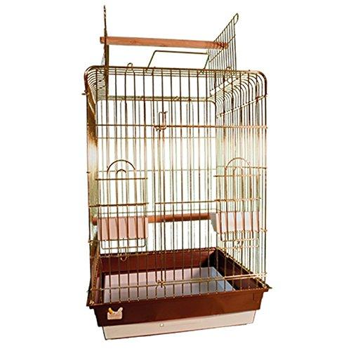 Arquivet Cages à Oiseaux - Kit 2 Cages Lecce - Ouverture supérieure - 47,5 x 47,5 x 86 cm