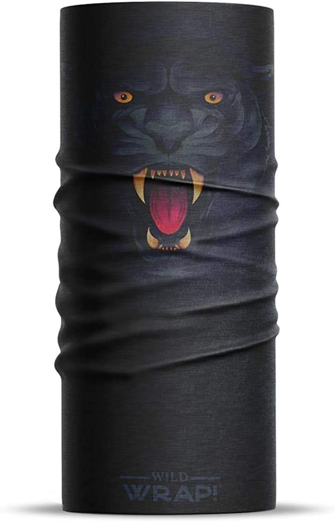 Wrap! Multipurpose Neck Gaiter Face Mask for Men and Women, Washable Cool Masks