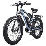 Shengmilo 26 Zoll Fat Tire E-Bike 48V 1000W Motor Snow Electric Bicycle mit Shimano 21-Gang Mountain...