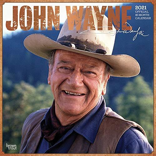 John Wayne 2021 - 16-Monatskalender: Original BrownTrout-Kalender [Mehrsprachig] [Kalender] (Wall-Kalender)