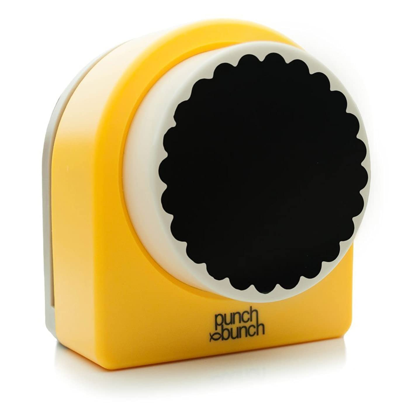 Punch Bunch Mega Giant Punch, Scalloped Circle, 72mm