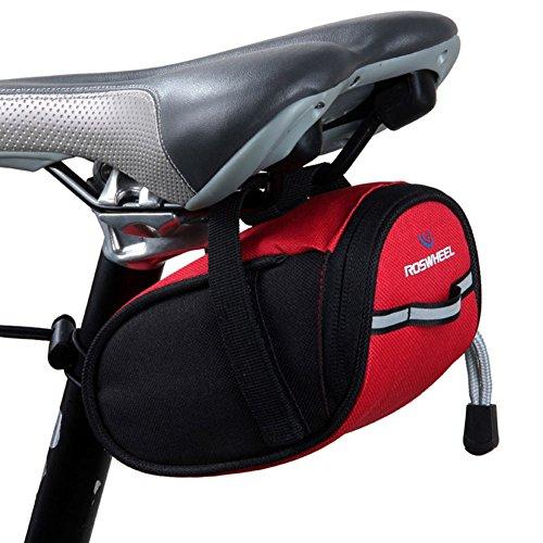 Black Temptation Seat Selle Sacoche Pack vélo Siège Sacoche Strap-on Saddle Bag-A2