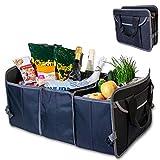 VAVO Faltbare Kofferraumtasche mit isoliertem Kühlfach - rutschfest - Gebaut