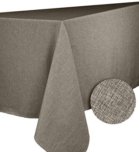 Calitex BROME Nappe rectangulaire Polyester Taupe 150x300