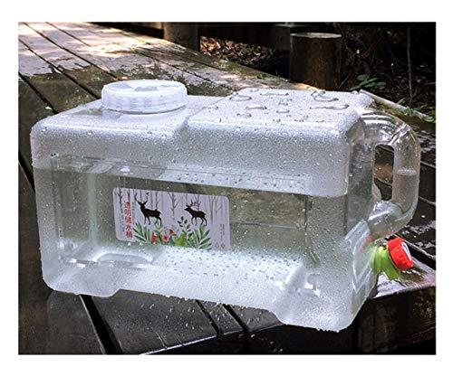 Bidón de agua Bidón Plástico Con Grifo Emergencia Almacenamiento De Agua Tanque De Agua Del Coche Para Cámping Contenedor De Agua Para Deporte Excursionismo Picnic Barbacoa Equipo Portador De Lavado C