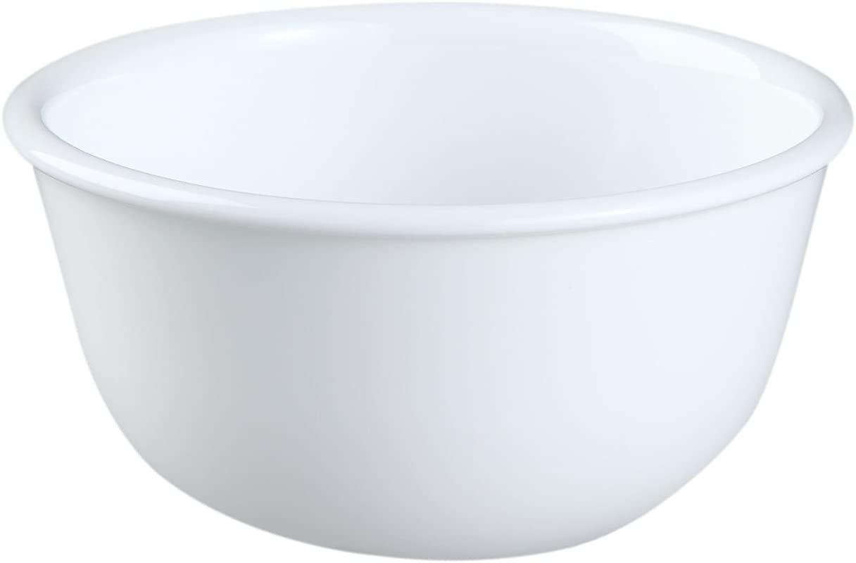 Corelle Livingware Winter Frost White 11 Oz Dessert Bowl Set Of 4 By Corelle Coordinates