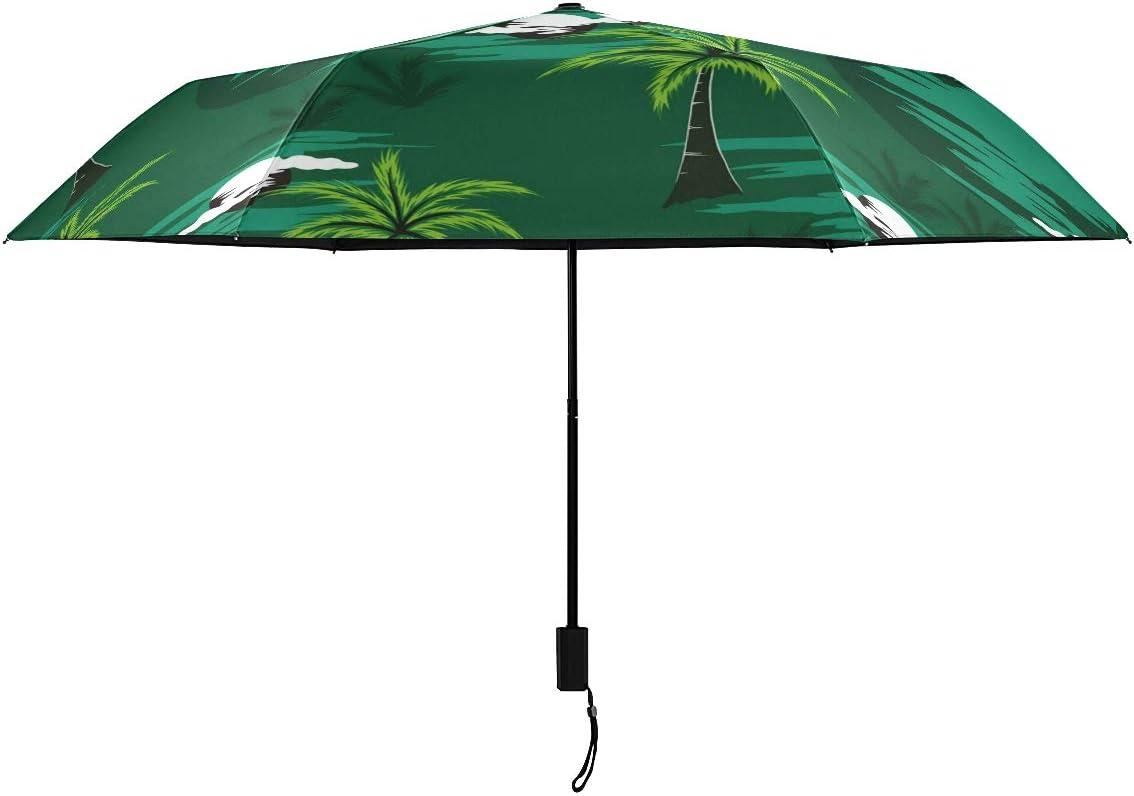 Forest Popular standard Trees Plant Parasol Compact online shop Nano Umbrella Rain RainWind