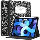 Supveco for iPad Air 4 Case / for iPad Air 4th Generation Case 2020 with Pencil Holder & Auto Sleep/Wake, for iPad Air 10.9 Case Slim Lightweight for iPad Air Case for iPad Air 4 Gen 10.9 Inch 2020