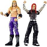WWE Wrestlemania Pack de 2 Figuras de Acción Luchadores Jeff Hardy vs. Edge, Juguetes Niños 8 Años (...