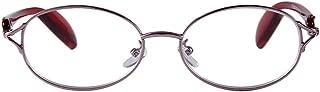 Aiweijia Retro Fashion men and women metal frame clear vision lens comfortable full frame unisex durable bracket reading glasses