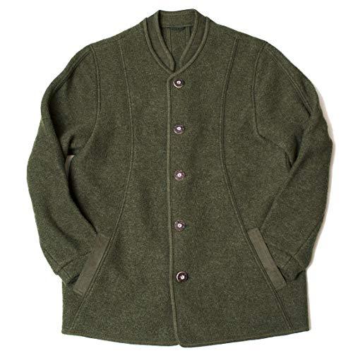 Dachstein Woolwear Men's Traditional Austrian 100% Fine Worsted Wool Loden Jacket (Green, Large,...