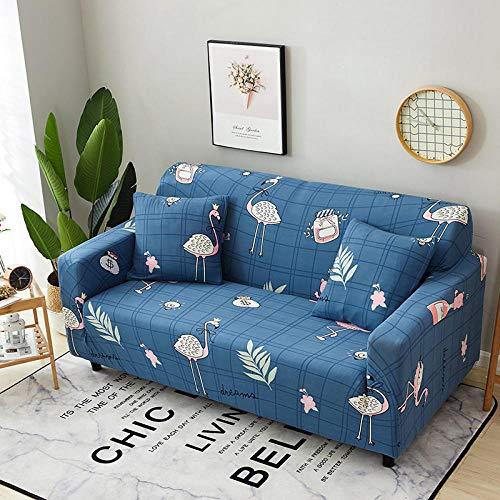 Allenger Cubierta para sofá con Cuerda de fijación,Funda de sofá con Estampado elástico, Funda de sofá con Todo Incluido, Protector de sofá-D9_190-230cm