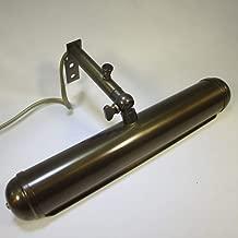Spiegellampe Antik Stil Gelenk Bilderleuchte 20cm Vintage Messing Bilderlampe
