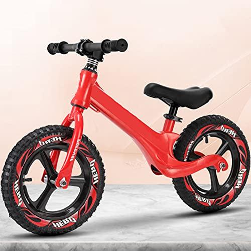 Women's Health Bicicleta de Equilibrio, Bicicleta para Caminar, Bicicleta Sin Pedales, First Bike para Niños, Niños Pequeños Pedales Juguetes, Bicicletas Sin Pedales para Niños