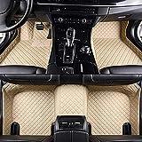 Hecho A La Medida De Coches Tapetes para Jaguar XF Todas Modelos XE XJ F-Pace F-Type Auto Accesorios De AutomocióN, Beige