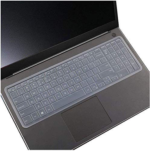 Who-Care Keyboard Skin Cover 15,6 17,3 inch voor Dell Game Laptop 5576 7566 7567 7577 7559 7557 15Pr 5570 7567 5559 5577 onesize Transparant
