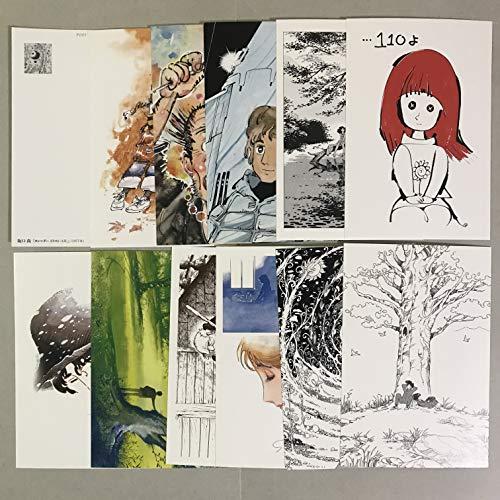 坂口尚ポストカード 12枚セット 2018年発行