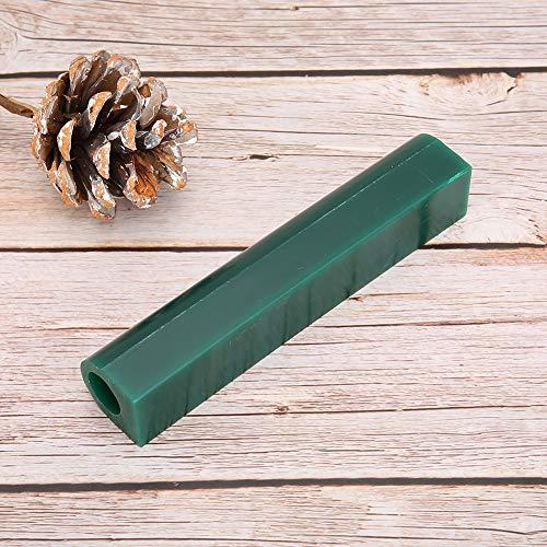 Hard 1Pcs Men Wax Tube Ring Form Wax Tube, Schmuck Wax Tube, Gravur Werkzeug Zubehör Grün DIY Enthusiast für Schmuckhersteller(Women's green wax tube)