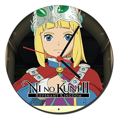MasTazas Ni no Kuni II Revenant Kingdom Reloj de Pared Wall Clock 20cm
